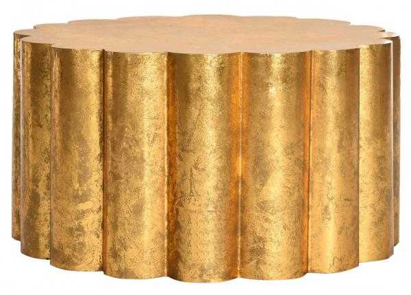 Miriam Coffee Table - Gold - Arlo Home - Arlo Home