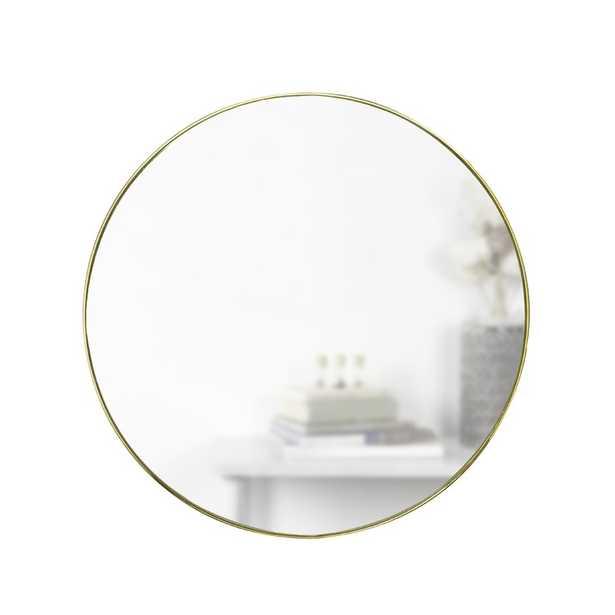 "Hubba Modern & Contemporary Accent Mirror, 34"" - Wayfair"