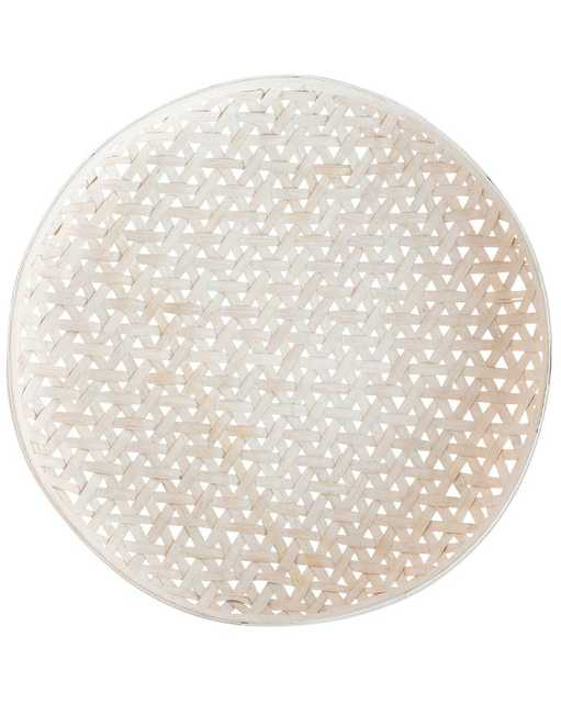 MAREA WOVEN TRAY - LARGE - McGee & Co.