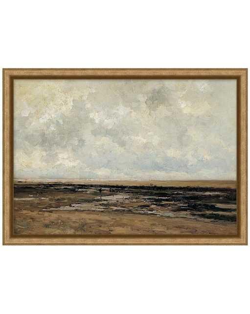 VILLERVILLE BEACH Framed Art - McGee & Co.