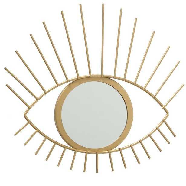 Mccombs Gilt Eye Glam Accent Mirror - Wayfair