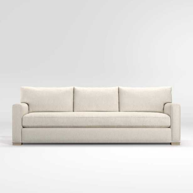 Axis Bench Grande Sofa / Icon, Pearl - Crate and Barrel