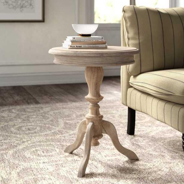 Rollingwood Solid Wood 3 Legs End Table - Wayfair
