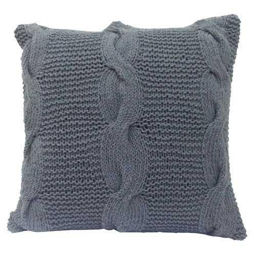 Timberview Cable Knit Throw Pillow - Wayfair