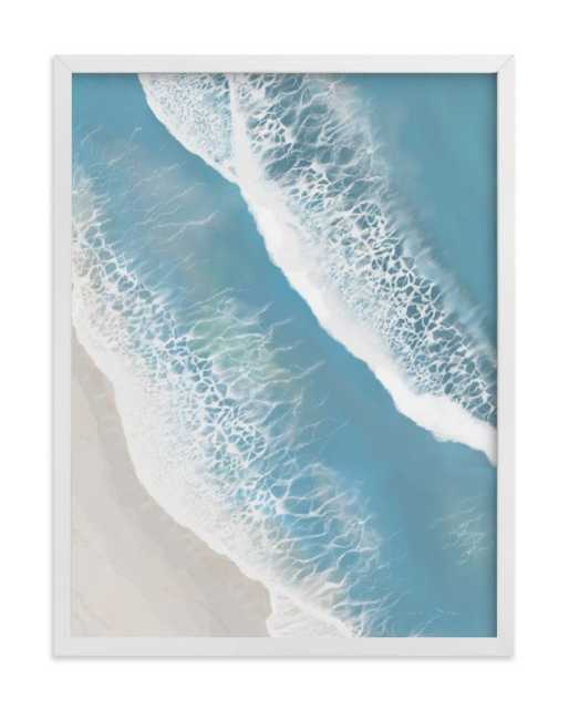 Foam From Above -Sea Blue - Minted