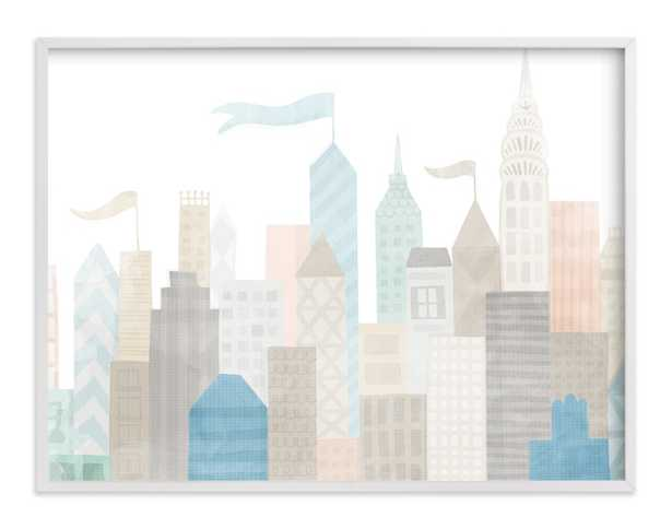 Big City Children's Art Print - Minted