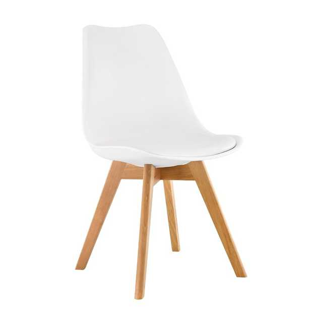 Hermina Upholstered Solid Wood Side Dining Chair - Wayfair
