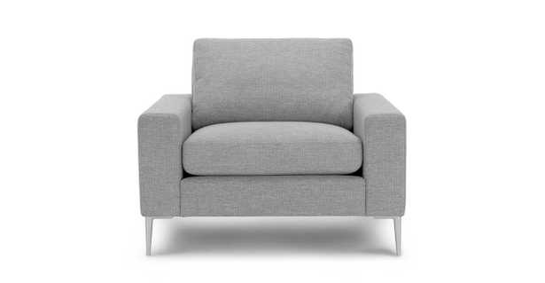 Nova Winter Gray Armchair - Article