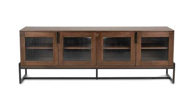 """Oscuro Walnut 73"""" Cabinet - Article"""