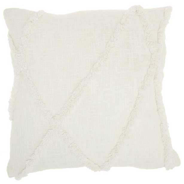 Remi Abstract Cotton Pillow Cover and Insert - Wayfair