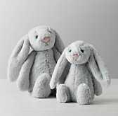 JELLYCAT® PLUSH ANIMAL - GREY BASHFUL BUNNY - RH Baby & Child