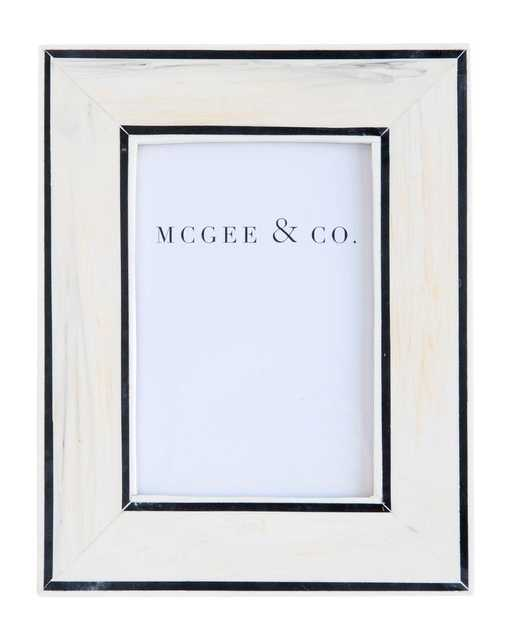 """BORDER LINES FRAME - 5"""" x 7"""" - McGee & Co."""