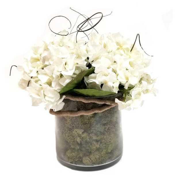 Hydrangea Floral Arrangements and Centerpieces in Vase - Wayfair