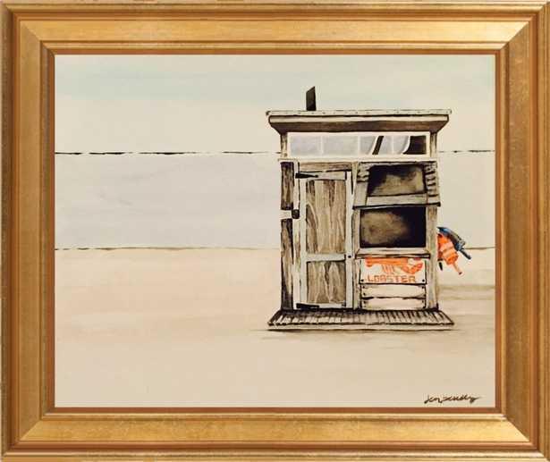 "Lobster Shack  By Jen Scully - Final Frame Size: 12""x10"" - Artfully Walls"
