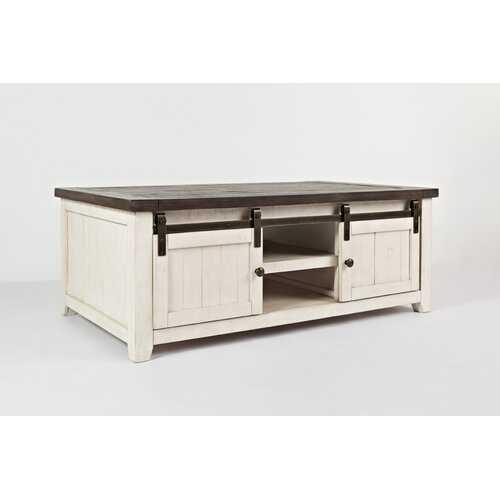 Westhoff Coffee Table with Storage - Wayfair