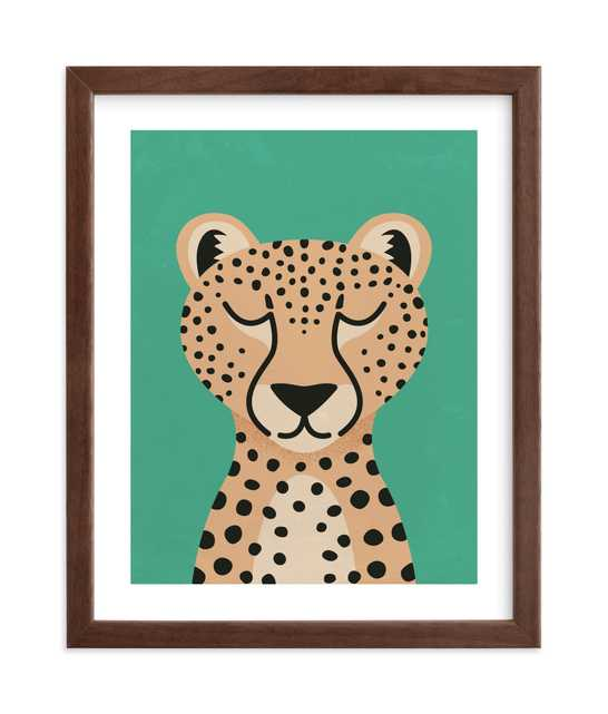 Cheetah Art Print - Minted