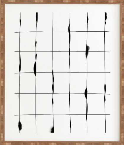 BETWEEN THE LINES WHITE Framed Wall Art - Wander Print Co.