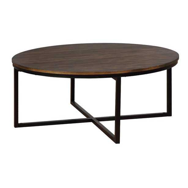 Gracie Oaks Hensley Round Coffee Table - Wayfair