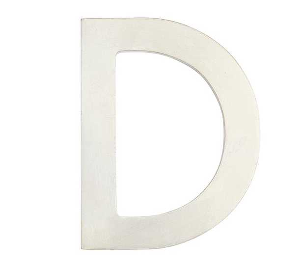 Champagne Laquer Letter D - Pottery Barn Kids