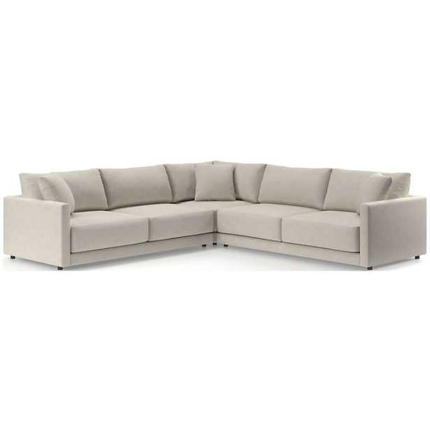 Gather 3-Piece Sectional - Crate and Barrel