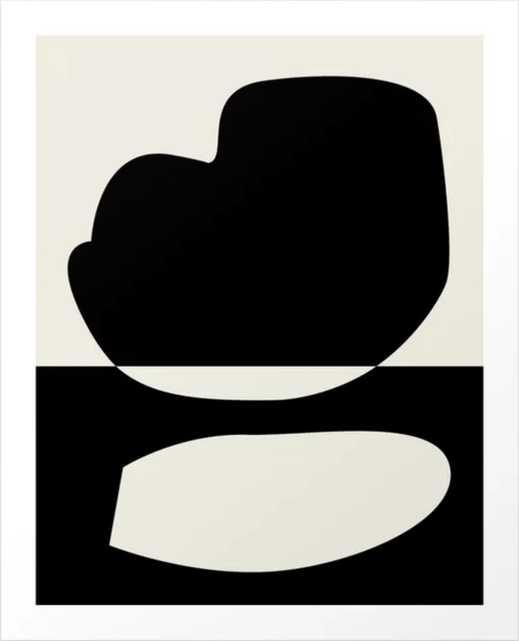 // Reverse 01 Art Print, Large - Society6