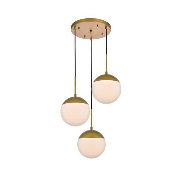 Yearby 3 - Light Kitchen Island Linear Pendant - Wayfair