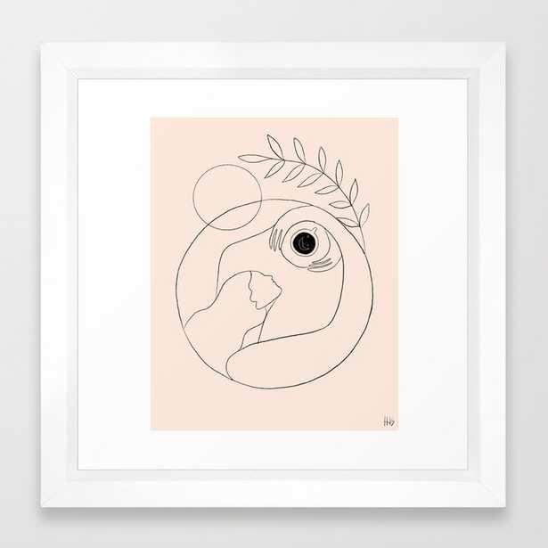 Morning coffee Framed Art Print - Society6