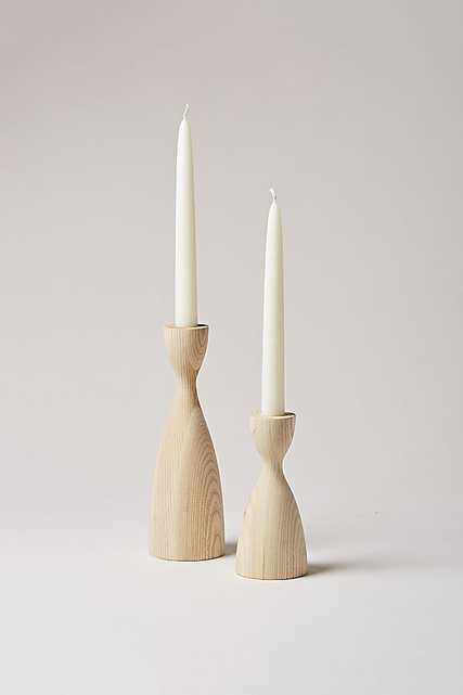 Farmhouse Pottery Pantry Candlestick - Medium Neutral ONLY - Anthropologie