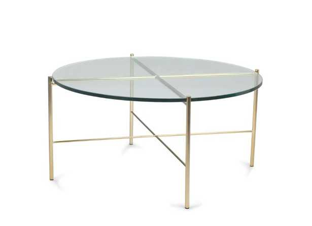 Silicus Clear Round Coffee Table - Article