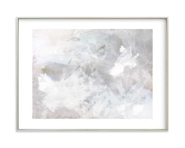 Melody in White - Minted