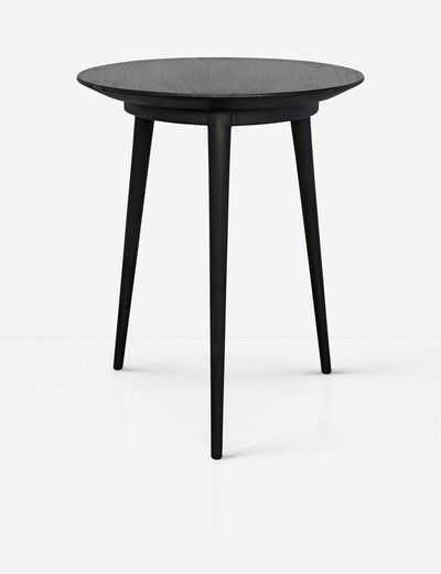 Rhetta Side Table, Charcoal Black - Lulu and Georgia