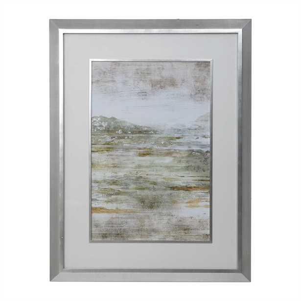 Beyond the Land Framed Print - Hudsonhill Foundry