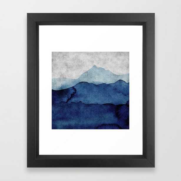 Water color landscape Framed Art Print - Society6