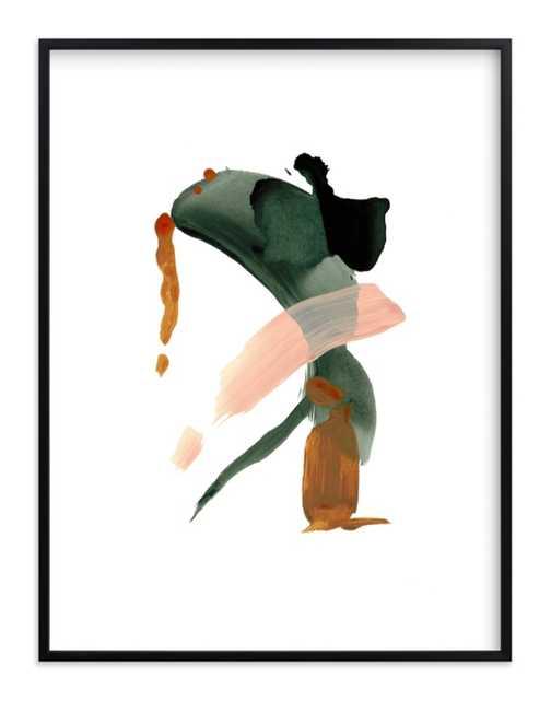 "Calm Forest No. 20 // Rich Black Wood Frame // 31.3"" X 41.3"" Framed - Minted"