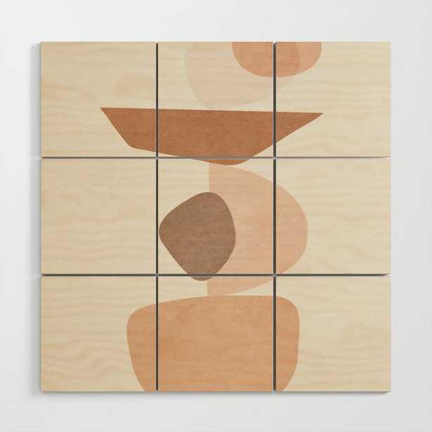 Balancing Elements II Wood Wall Art by City Art - Society6