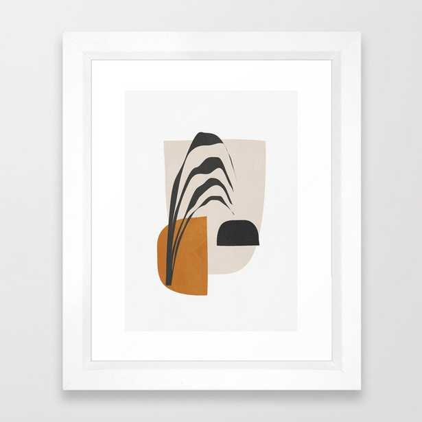 "Abstract Shapes 3 - 10x12"", Vector White - Society6"