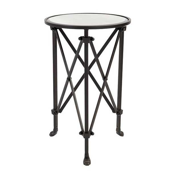 Ballard Designs Olivia Mirrored Side Table - Ballard Designs