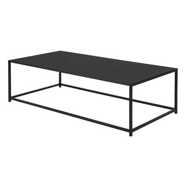 Black Rowley Frame Coffee Table - AllModern