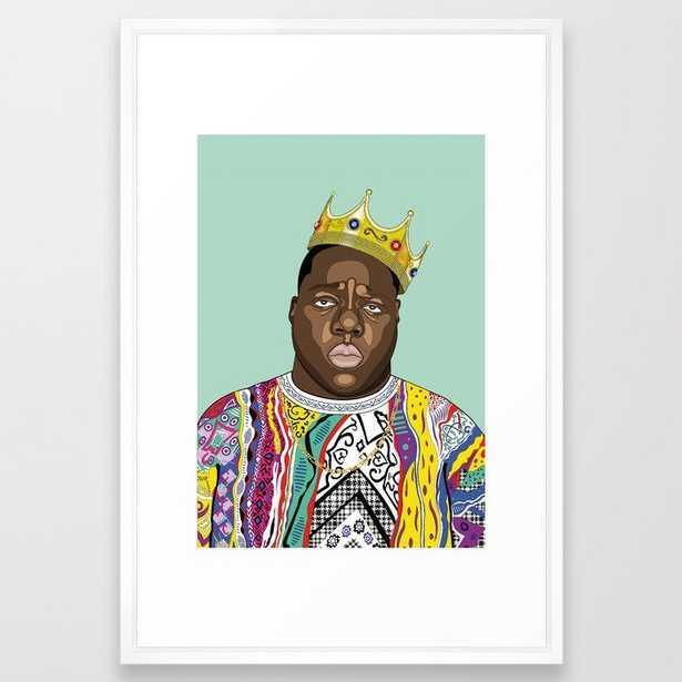 Biggie, notorious BIG Framed Art Print - Society6