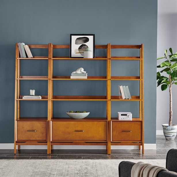 Dunkelberger Library Bookcase - Wayfair
