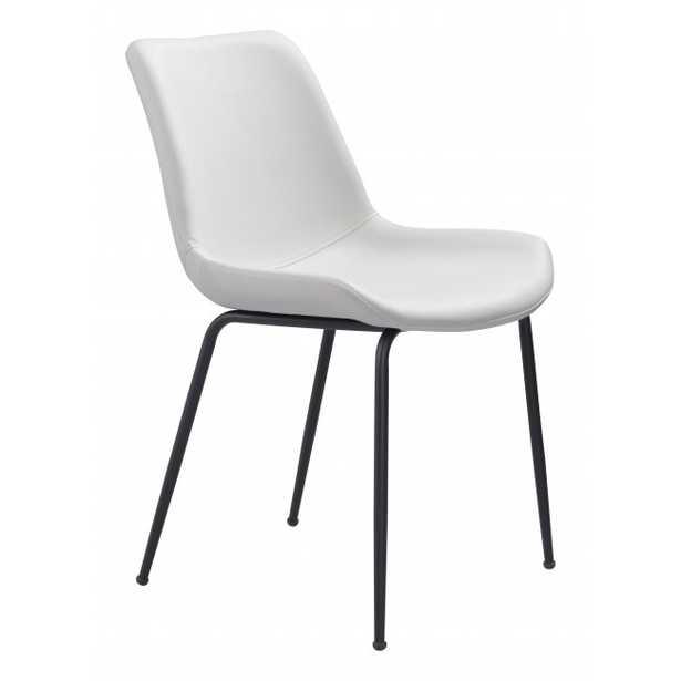 Byron Dining Chair White - Zuri Studios