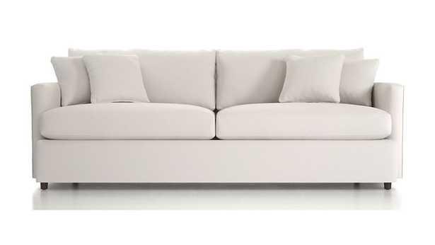 "Lounge II 93"" Sofa - newport salt - Crate and Barrel"