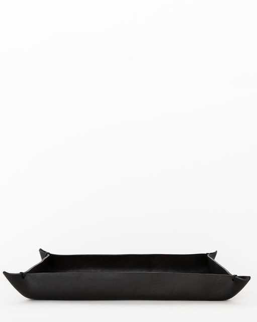 LEATHER CRAFTED TRAY-L - McGee & Co.
