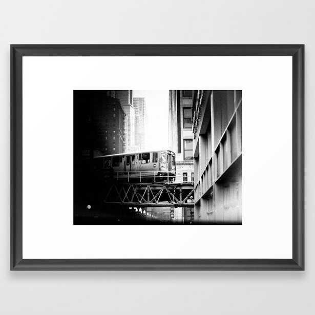 Chicago Skyway Framed Art Print - Society6