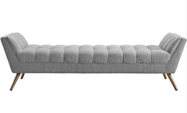 Fiske Upholstered Bench - Wayfair