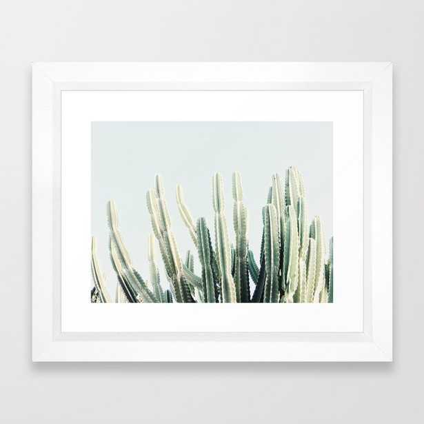 Desert Framed Art Print - by Almostmakesperfect - Society6