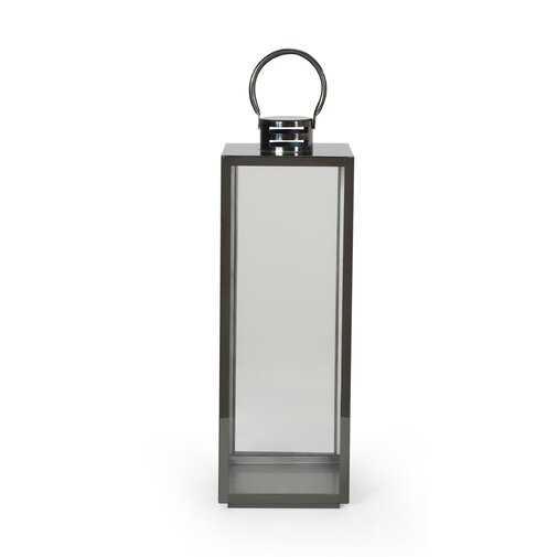 Ashley Modern Stainless Steel Outdoor Lantern - Wayfair