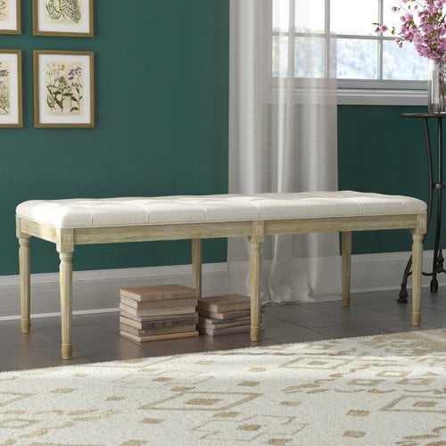 Bullen French Upholstered Bench - Wayfair