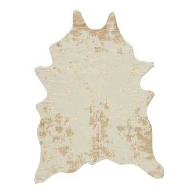 Pilla Ivory/Brown Area Rug 5' x 7' - Wayfair