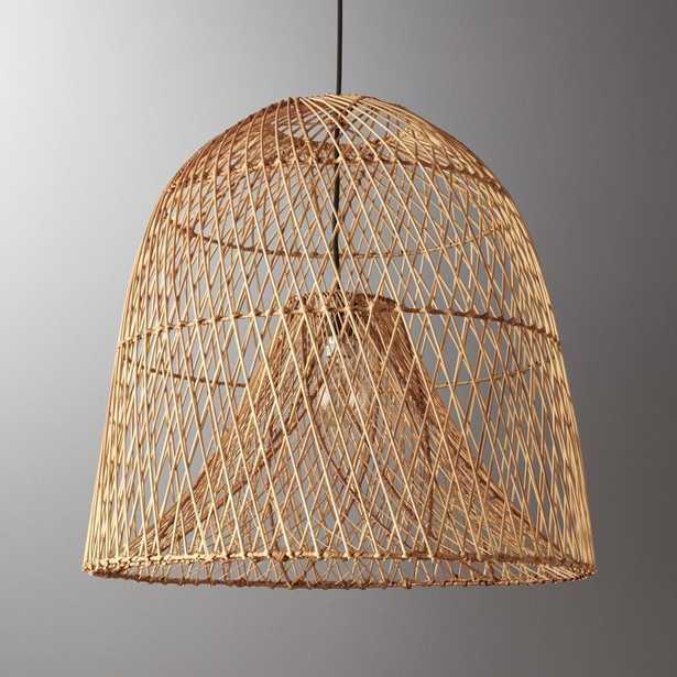 Nassa Basket Pendant Light - CB2